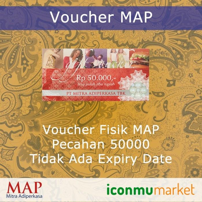 harga Voucher map 50000 Tokopedia.com