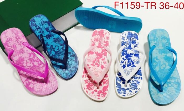 harga 1159-tr sendal sandal cewek jepit luofu import Tokopedia.com
