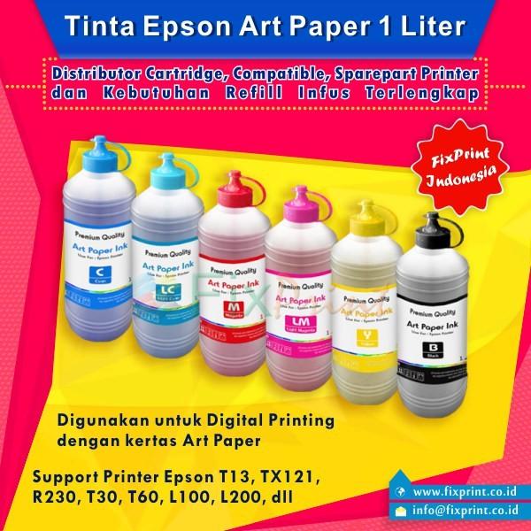harga Tinta art paper epson magenta 1 liter Tokopedia.com
