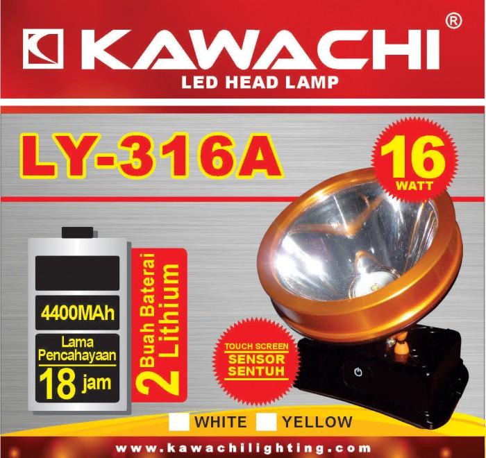 harga Senter kepala kawachi ly 316a 16w touch screen lithium Tokopedia.com