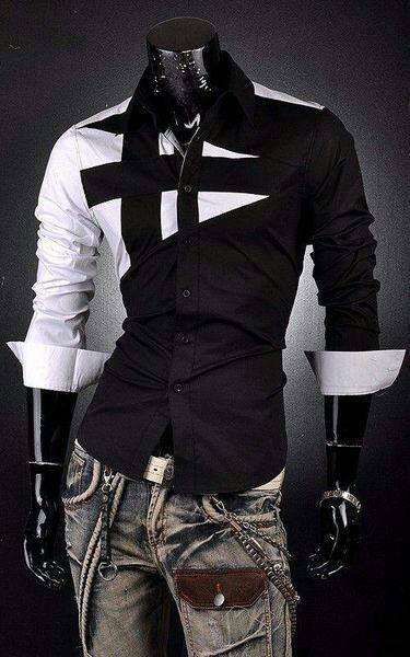 harga Kemeja King Black/kemeja Pria Korea Jepang Keren Murah Tokopedia.com
