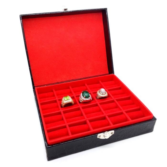 harga Wadah/box/kotak cincin,perhiasan,batu akik,permata,emban,bacan,safir, Tokopedia.com
