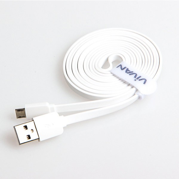 Vivan CM180 1.8M Micro USB Data Cable for Android White