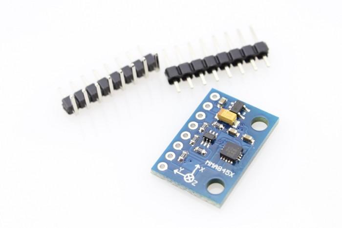 Foto Produk GY-45 MMA845X MMA8451 Modul Akselerometer 3 Triple Axis Accelerometer dari TOKO BEY