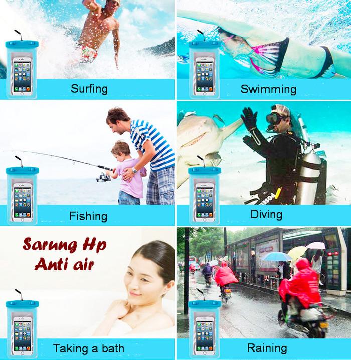 harga Sarung hp anti air ini didesign khusus pelindung handphone dari air Tokopedia.com