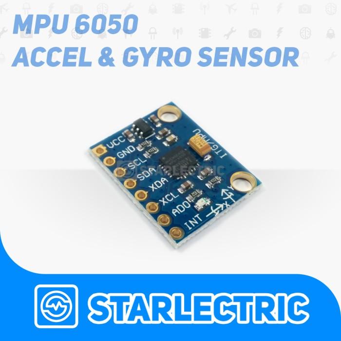 Foto Produk MPU6050 Sensor Accelerometer & Gyroscope dari Starlectric