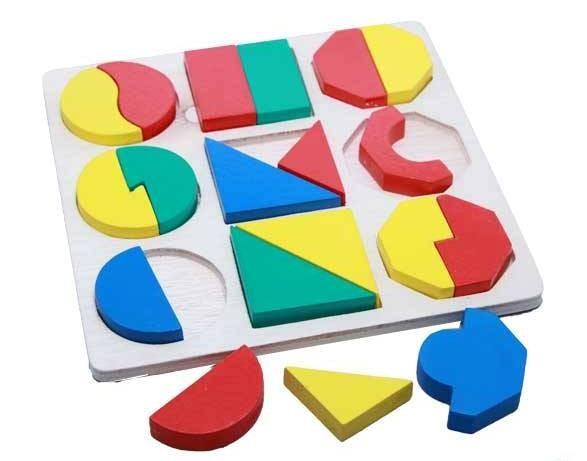 Foto Produk puzzle SMGB timbul, mainan edukatif edukasi anak kayu SNI murah aman dari Edukasi Toys