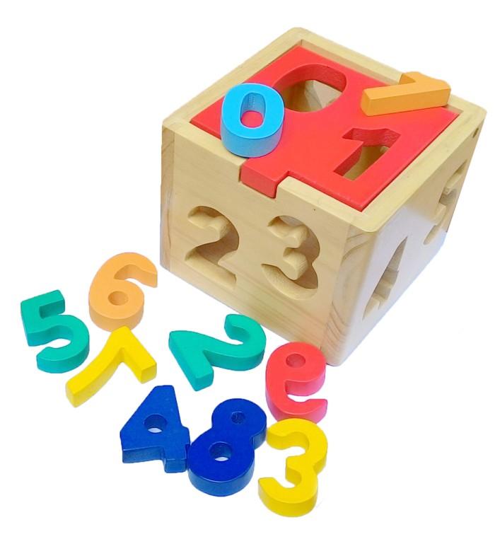 Foto Produk kotak pas angka, mainan edukatif edukasi anak SNI kayu tk paud murah dari Edukasi Toys