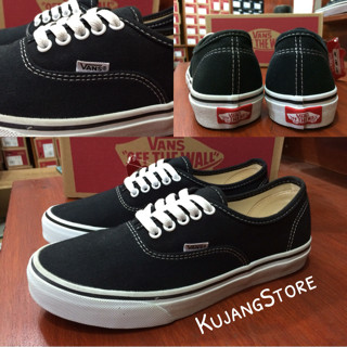 Sepatu vans authentic black white original premium quality waffle DT 2e0c5b78ed