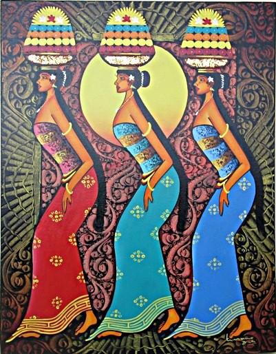 harga Lukisan penari bali pb-04 Tokopedia.com