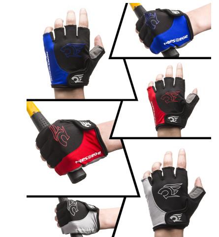 harga Gloves sepeda / motor sarung tangan gel half finger kode s001 Tokopedia.com