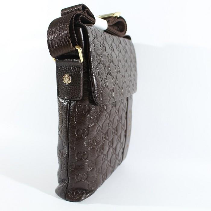 2bfceaeec6a Jual Tas Selempang Pria Premium Import Kulit Asli Gucci 505 Coffee