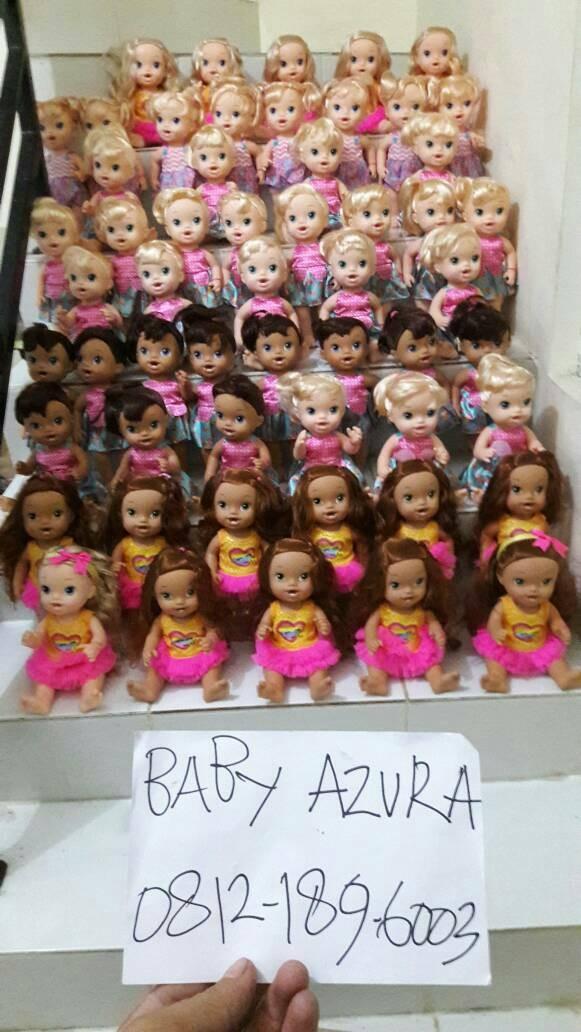 Jual Baby Alive Dress N Slumber Bear Doll Ready Babyazura Tokopedia