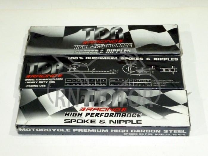 harga Jari-jari/ruji velg tdr 9/10x 164 carbon steel chrome Tokopedia.com