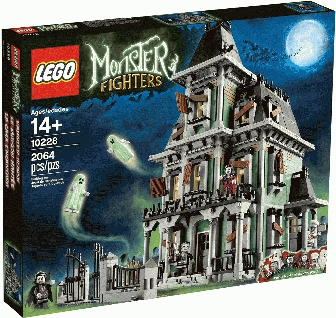 Jual LEGO Exclusive Monster Fighters # 10228 Haunted House New Sealed Rare  - Menta Store | Tokopedia