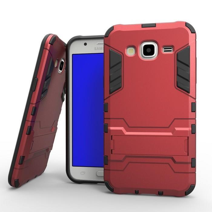 harga Samsung galaxy j1 ace j2 j3 j5 j7 hybrid tpu + pc iron man hard case Tokopedia.com