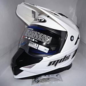harga Helm mds super pro white supermoto fullface moto putih superpro Tokopedia.com