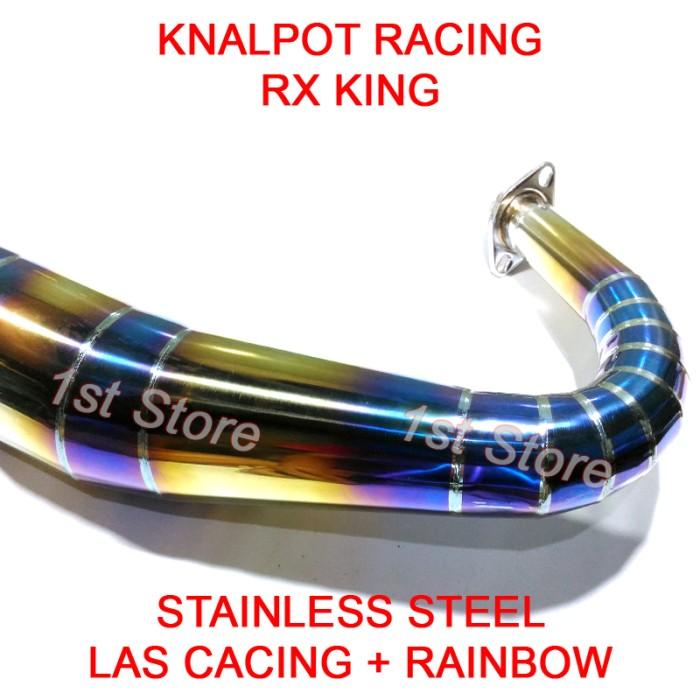 harga Knalpot racing rx king rxz rxs rxking 3v3 kolong telo 2tak rainbow ss Tokopedia.com