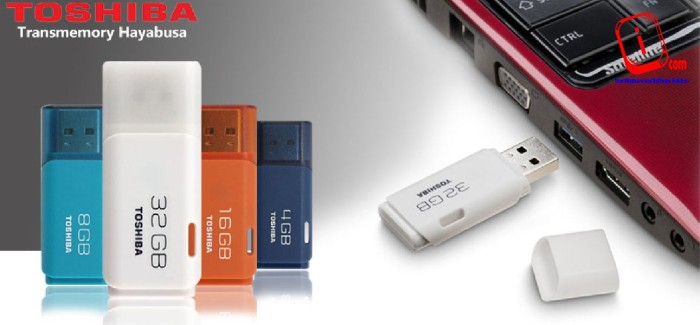 Foto Produk FLASHDISK / FLASH DISK USB TOSHIBA HAYABUSA 32 GB / 32GB ORIGINAL 100% dari internal com