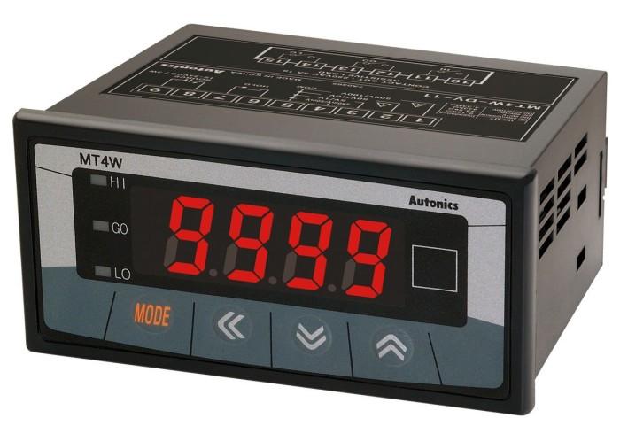 Autonics - controller panel meter -  mt4w-aa-4n