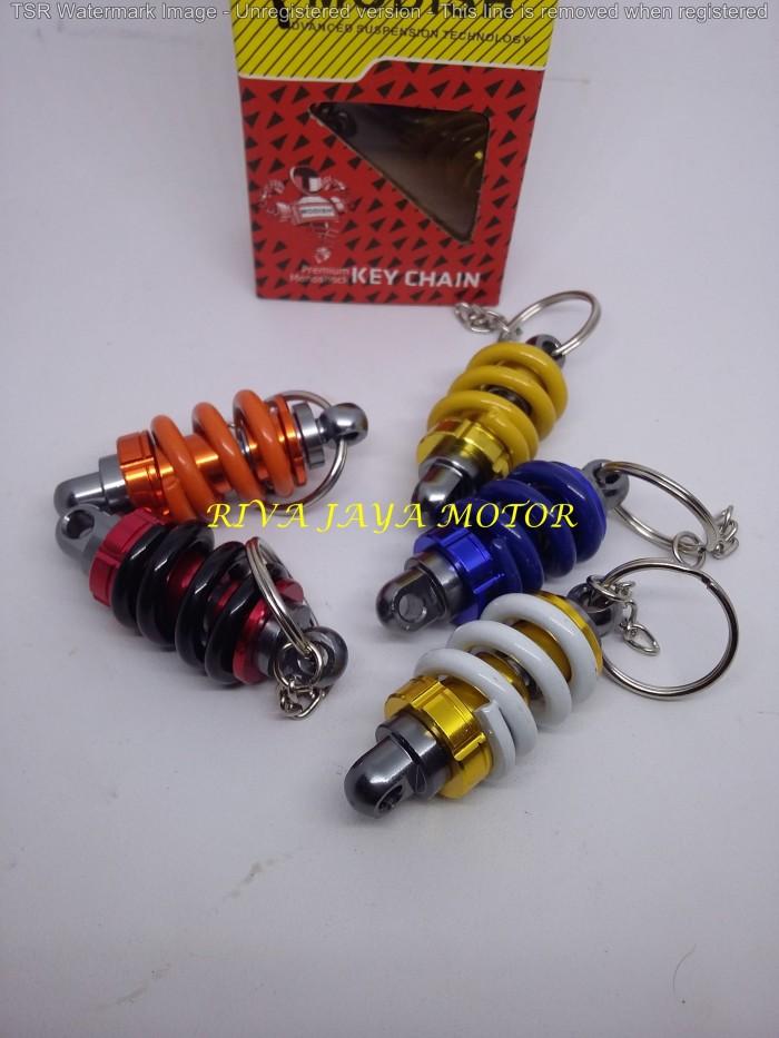 Gantungan kunci key chain unik model shock breaker shockbreaker
