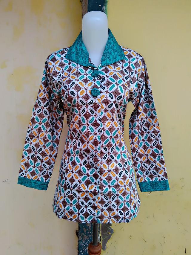 harga Blus batik kawung Tokopedia.com