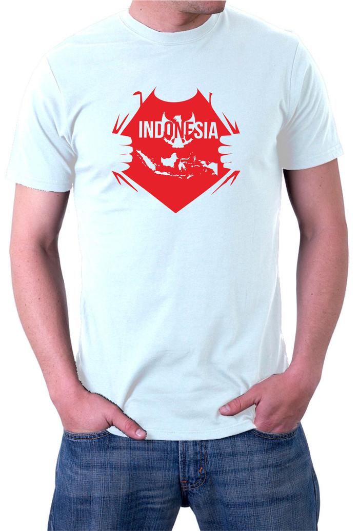 kaos I love indonesia Putih garuda dirgahayu HUT RI 71 17 an #9