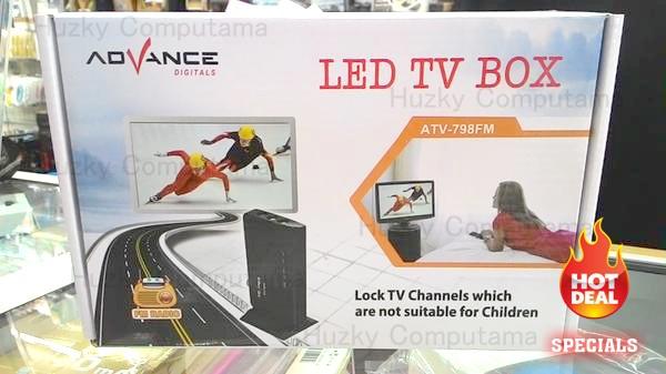harga [ advance ] led tv box atv-798fm. monitor anda jadi tv Tokopedia.com