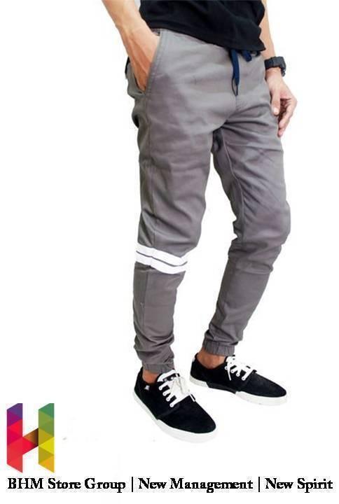 Jogger pants / joggerpant / jogerpant dc stripes / strip