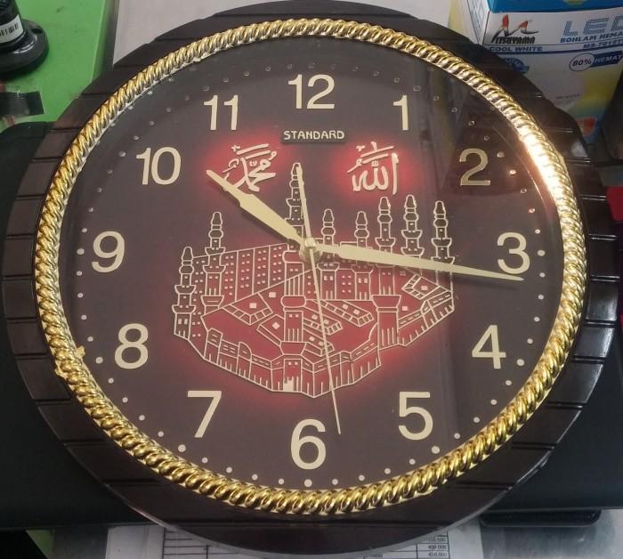 Segini Daftar Harga Jam Dinding Kaligrafi Jam Murah Terbaru 2018 fa2998129d