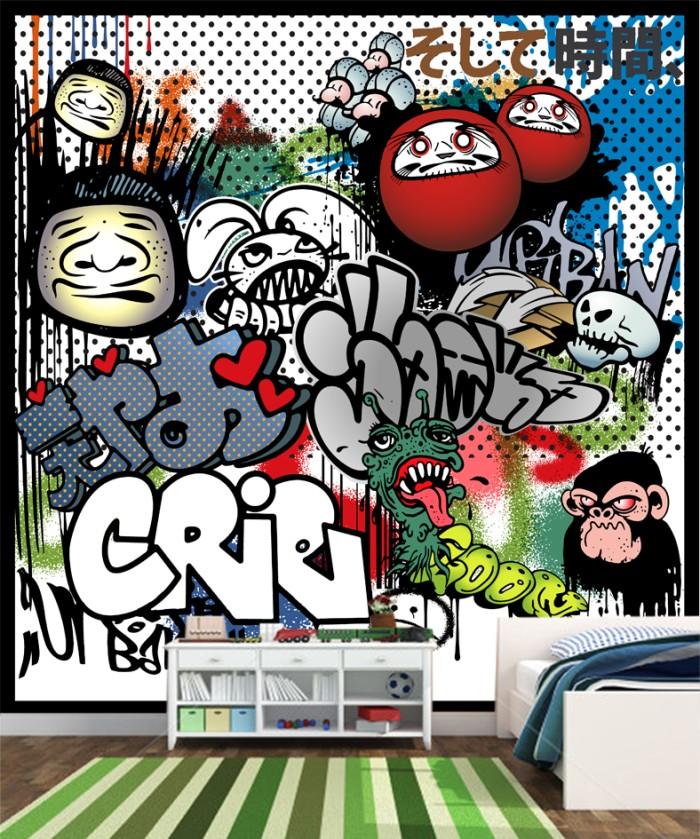 740+ Gambar Grafiti Keren Buat Wallpaper HD Terbaik