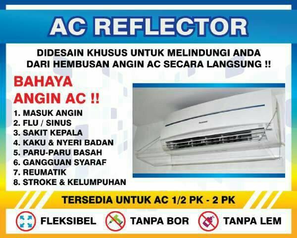 TALANG AC/AC SHIELD/REFLECTOR AC DARI ACRYLIC, AC SPLIT 0.5-1.5PK