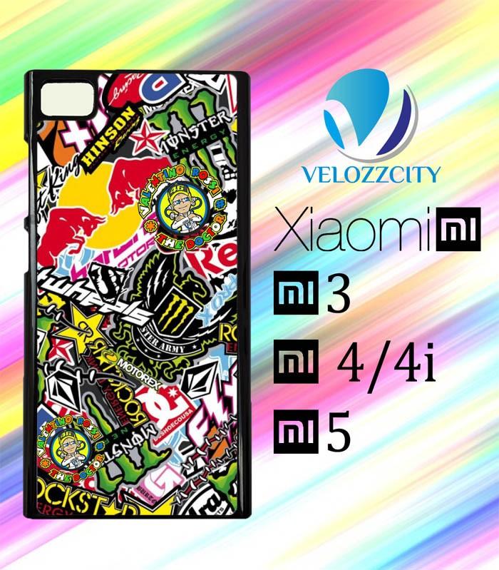 harga Custom casing hp xiaomi mi3. mi4 mi4i mi5 sticker bomb z3809 hardcas Tokopedia.com