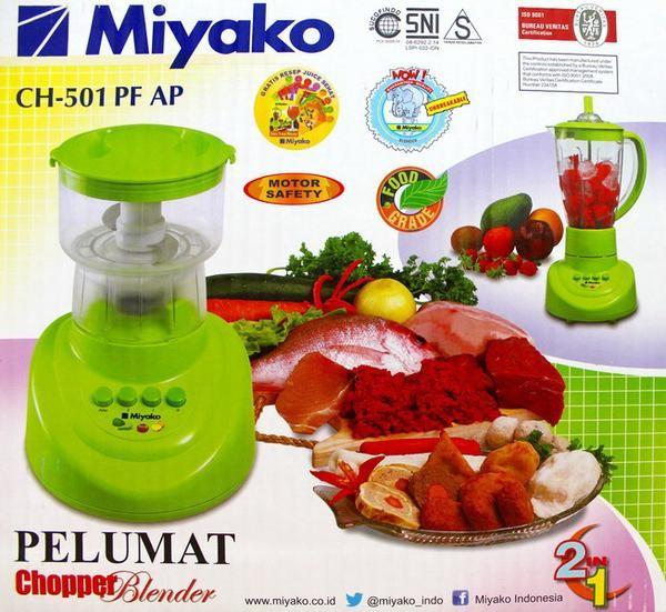harga Miyako ch-501 pf/ap chopper blender 1.5l - penggiling daging & pelumat Tokopedia.com