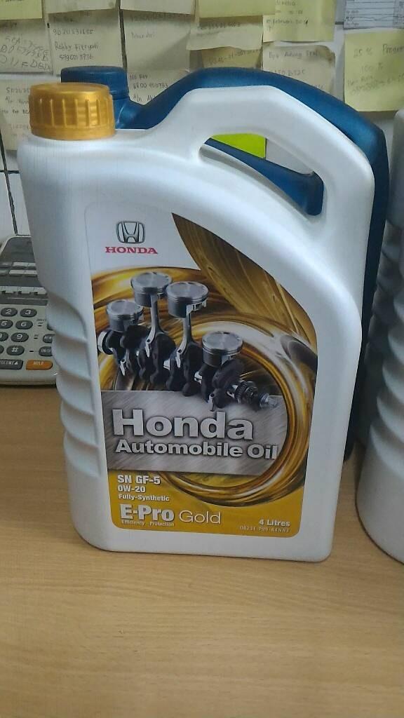 Oli Honda Epro Gold 0W/20 Galon 4 liter