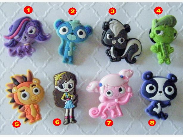 harga 4 pcs jibbitz (pin / hiasan crocs) littlest pet shop Tokopedia.com