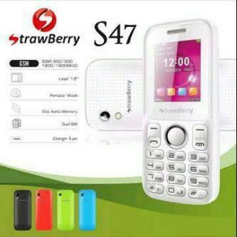 harga Hp Strawberry S-47 / S47 / S 47 Dual Gsm || New Garansi 1 Tahun Tokopedia.com