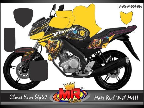 Jual Stiker Motor Full Yamaha Vixion Kab Klaten Mr Stiker Tokopedia
