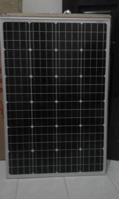 harga Solar panel surya monocrystalline 100wp / solar cell 100 watt Tokopedia.com