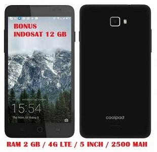 harga New!!! coolpad roar 3 ram 2 gb 4g lte bonus indosat ooredo 12 gb Tokopedia.com
