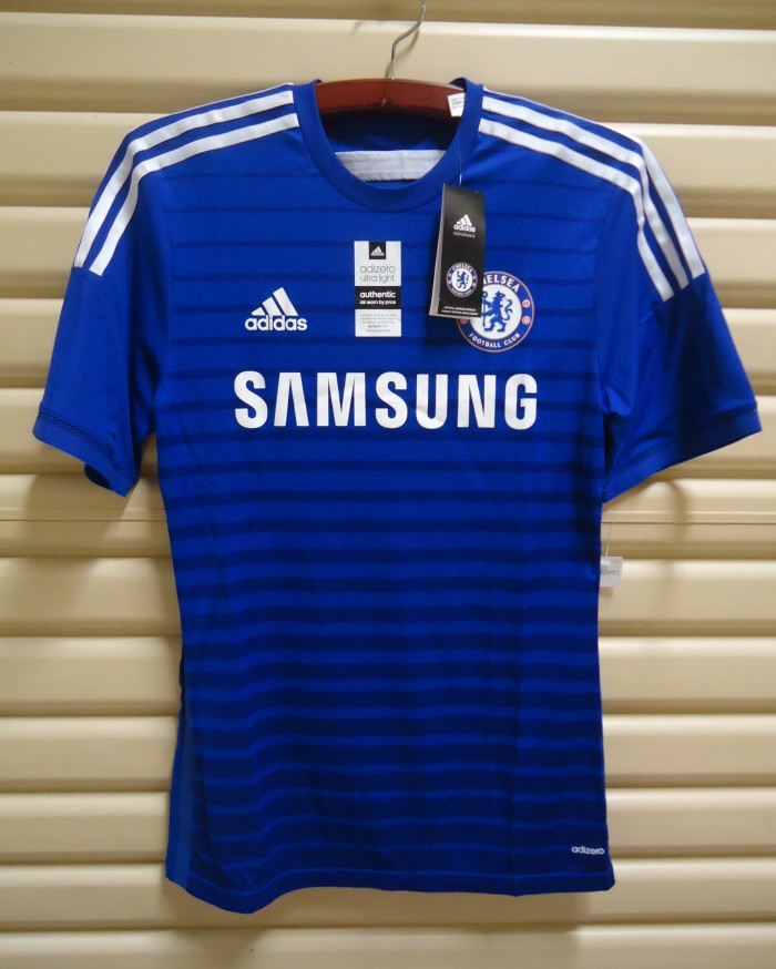 finest selection 88eee 439c0 Jual Chelsea 2014-15 Home. ADIZERO. BNWT. Original Jersey - DKI Jakarta -  S4fe Store | Tokopedia