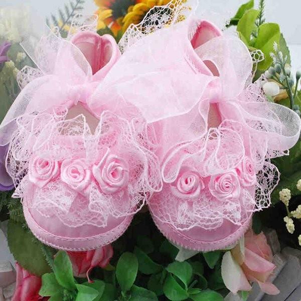 harga Baby girl flowers shoes sole non-slip crib shoes / sepatu bayi Tokopedia.com