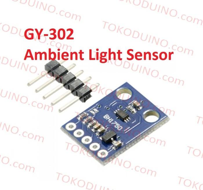harga Gy-302 ambient light intensity sensor gy302 bh1750 intensitas cahaya Tokopedia.com
