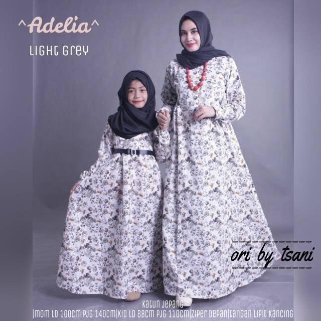 Jual Gamis Couple Ibu Anak Adelia Couple Cantik Dapis Shop