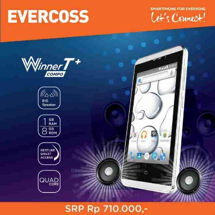 harga Evercoss a74e winner t+ Tokopedia.com
