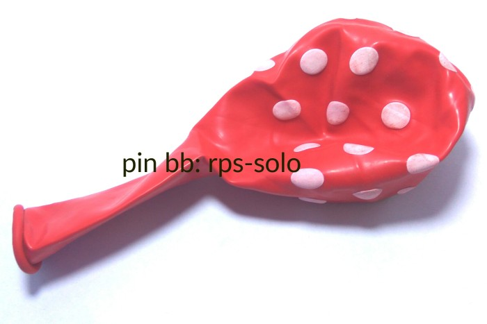 Katalog Balon Latex Polkadot Travelbon.com
