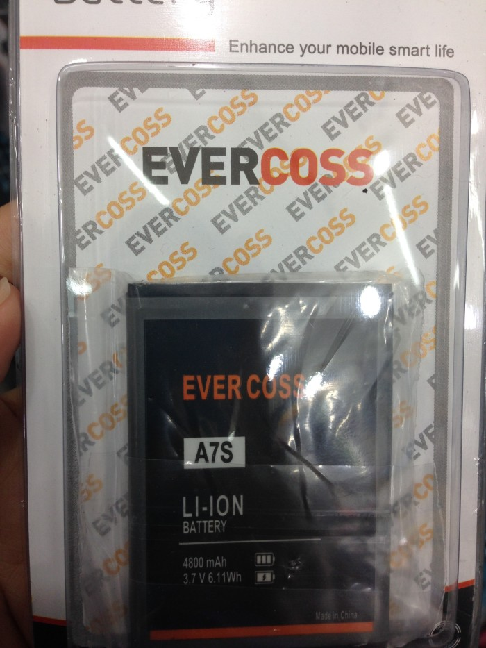 Baterai Battery Evercoss Cross A7s 4800mah Original