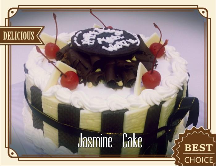 harga Black forest cake 2 - 22 cm (tart birthday kue ulang tahun jasmine) Tokopedia.com