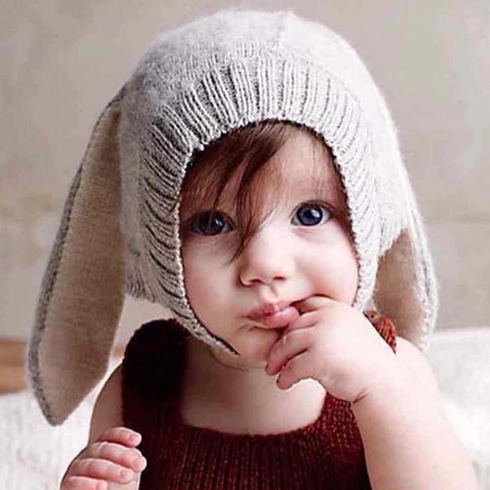 harga Topi Bayi | Kupluk Bayi (bunny Knitted Beanies) Tokopedia.com