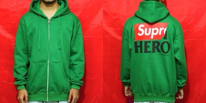 e82e5504db38 Jual ZIP HOODIE SUPREME X ANTI HERO - Hellflip Skatewarehouse ...